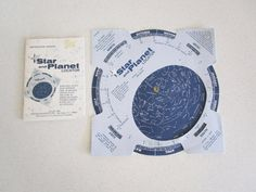 Star and Planet Locator 1977 Edmund Scientific by nowheretoland