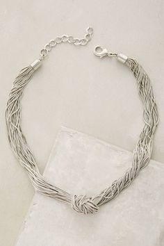 Knotted Mareva Necklace - anthropologie.com