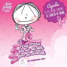@Neve_Gelato: ¡Juntos en la lucha contra el cáncer de mama! @hablandosola @fundacion_cimab #MesRosa