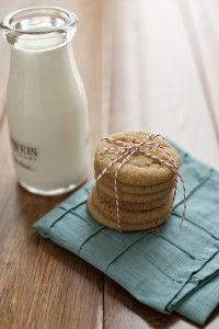 Peanut Butter Cookies- How cute is this?