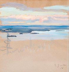 Eero Järnefelt, 2 WORKS: VIEWS
