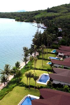 This beachfront retreat is the only resort on Phuket's private Coconut Island. #Jetsetter