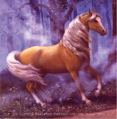 The Golden Mare, The Firebird and the Magic Ring -- art by Ruth Sanderson