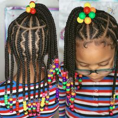 Black Kids Hairstyles, Natural Hairstyles For Kids, Kids Braided Hairstyles, Girl Hairstyles, Natural Hair Styles, Braids For Kids, Samara, Hair Looks, Black Girls