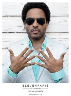 LENNY! Charlotte Free and Lenny Kravitz Front Eleven Paris Spring 2013 Campaign