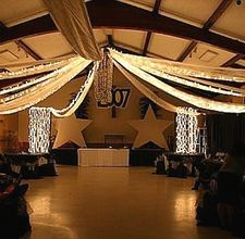 Fun way to decorate for a party- David's b'day on NYE