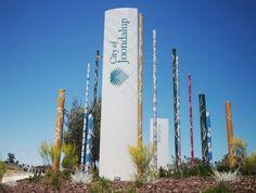 Joondalup town signage / Danthonia Designs