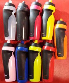 NEW NIKE UNISEX 600ML LEAKPROOF SPORT WATER BOTTLES (ASSORTED COLOURS) Water Bottles, Can Opener, Sportswear, Colours, Unisex, Stuff To Buy, Ebay