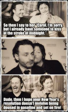 Rickyl (Yea.. we all shippers kinda knew these two men had sumpin' swingin')