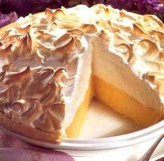 Habos citromos pite Garlic Bread, Camembert Cheese, Tart, Peanut Butter, Pudding, Baking, Recipes, Food, Pie