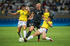 Colombia v New Zealand: Women's Football - Olympics: Day 1
