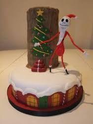 Image result for pinterest jack skellington christmas cake