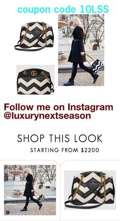 """Gucci Marmont Matelasse Tote"" by luxurynextseason ❤ liked on Polyvore featuring Gucci"