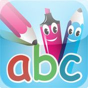 Cool iPhone, iPad, iPod Touch Apps: abc PocketPhonics: letter sounds & writing + first words Phonics For Kids, Abc For Kids, Preschool Phonics, Learning The Alphabet, Kids Learning, Learning Time, Best Apps For Preschoolers, Early Literacy, Emergent Literacy