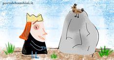 Il re e il masso: una bella storia educativa Grande, Desktop, Spring