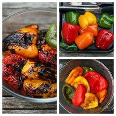How to Roast or Grill Sweet Bell Peppers