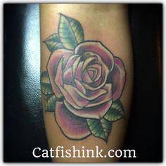 Roses tattoo by Don Catfish Gorospe