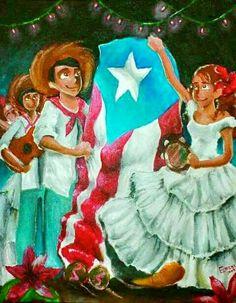 Christmas in Puerto Rico Christmas In Puerto Rico, Colombian Art, Puerto Rico History, Puerto Rican Culture, Enchanted Island, San Juan Puerto Rico, Puerto Rican Recipes, Puerto Ricans, Beautiful Islands
