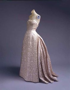 Dior gown