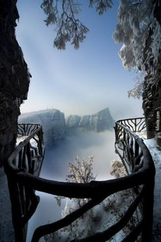 Tianmen Dağları Yürüyüş Parkuru - Çin  - 4finite.com