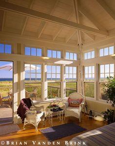 Sun Room. Brian Vanden Brink. Room Only. Ceiling, floor, windows.