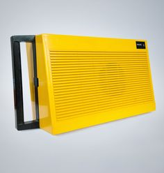 The Philips Stero 200 portable vinyl record player is a 1970's classic in egg yolk yellow. The speakers ...