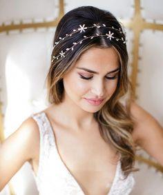 Apparel Accessories Beauty Sweet Women Girls Little Pearl Flower Wedding Bridal Headband Hair Band Tiara 2018 Hottest Agreeable Sweetness