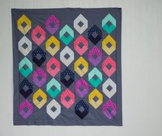 My Raindrops Quilt from Fat Quarter Style {book giveaway too!} — SewCanShe | Free Daily Sewing Tutorials