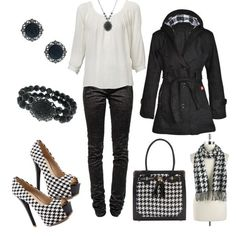 """""""houndstooth"""" by iris-flower"""