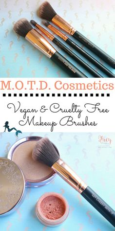 M.O.T.D. Cosmetics | Vegan & Cruelty Free Makeup Brushes Use code LUCY for 10% off at www.motdcosmetics.com