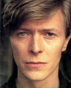 David Bowie close up