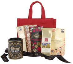 The Lovers Delights bag is packed full with yummy Fairtrade Divine chocolate!