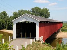 2. Medora Covered Bridge - Medora Covered Bridges, Columbus Indiana, Places To Travel, Places To Visit, United States Travel, Travel Tips, Usa, Road Trips, Wikimedia Commons