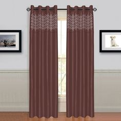 Alla Grommet Single Curtain Panel