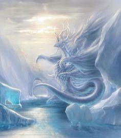 Dragon art - Melting