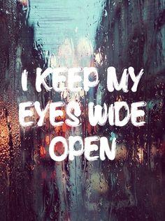 Eyes Wide Open. Sabrina Carpenter