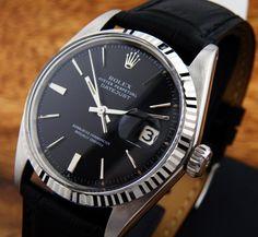 Rolex Black On Black …