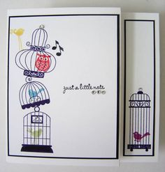 Stampin Up - Aviary.