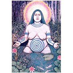 Anu / Annan / Dana / Dannan - Deusa Mãe, da Abundância, sendo a maior de todas as deusas do panteão irlandês. Aspecto virginal da Deusa Tríplice, formada com Badb e Macha, guardiã do gado e da saúde. Deusa da Fertilidade, da Prosperidade e do Conforto.