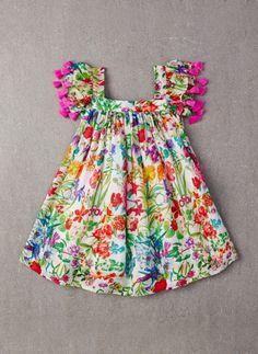 nellystella chloe dress – garden floral - view all - baby girl Little Dresses, Little Girl Dresses, Girls Dresses, Toddler Dress, Baby Dress, Infant Toddler, Toddler Girls, Fashion Kids, Girl Fashion