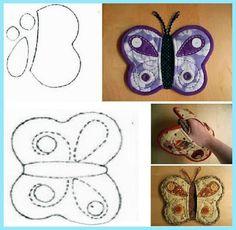 tutacak nasıl yapılır, mutfak eldiveni nasıl yapılır, tutacak  yapımı, mutfak eldiveni yapımı, mutfak eldiveni, kelebek şeklinde tutacak, kelebek mutfak aksesuarı,
