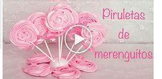 Making a sweet Valentine gift - Meringue Pops Martha Stewart Recipes, Meringue Cookies, Baking Cookies, Tiramisu Recipe, Candy Table, Pavlova, 8th Birthday, Creative Cakes, Holidays And Events