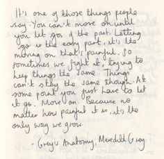 1000+ images about Grey's Anatomy Quotes. on Pinterest ...