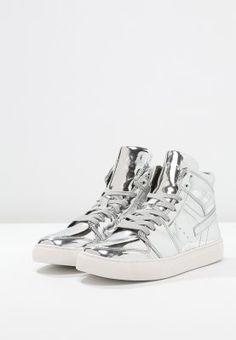 97fc8a3471d5 CARL - Sneaker high - silver - meta.domain