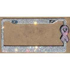 "Breast Cancer Awareness Ribbon Pink Car Window Vinyl Decal Sticker 5"" Tall"