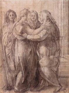 Visitation - Jacopo Pontormo