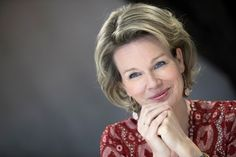Queen Mathilde made a visit to the Academy of Arts of Mons on...