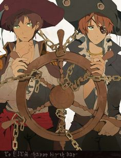 Pirate Iggy and Spain