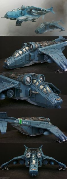 Imperial Guard - Valkyrie - 40k