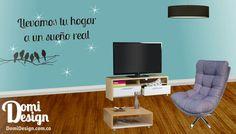 Llevamos tu hogar a un sueño real, con Domidesign.com.co puedes llevar tus sueños a la realidad, fabricamos y Diseñamos tus espacios
